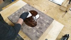 How to Make an End Grain Butcher Block: 13 Steps (with Pictures) Butcher Block Top, Butcher Block Countertops, Rough Cut Lumber, Woodworking Projects Diy, Wood Projects, Table Saw, Router Bits, Grains, Korn