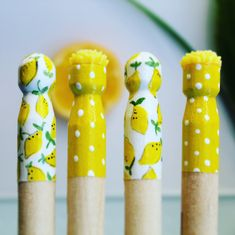 Beautiful hand painted pegs by MilaandBree Beautiful Hands, Hand Painted, Unique Jewelry, Handmade Gifts, Baby, Vintage, Kid Craft Gifts, Craft Gifts, Costume Jewelry