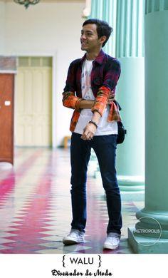 …Y EL DIP DYED PRINT [PALACIO TECLEÑO] Metropolis Trends / Street fashion www.metropolistrends.com