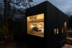 Disconnect and recharge in your own tiny house.