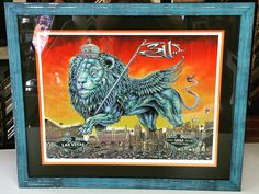 Limited Edition 311 print framed with @fotiouframes, an acid-free mat, conservation glass and orange flllet by @larsonjuhl! Come see us for all your concert poster framing needs! #art #pictureframing #customframing #denver #colorado #concertposters