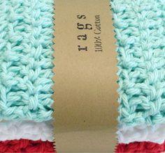 Crochet Wash Cloths  Crochet Dish Cloths  100 by pomegranatefarm, $12.50
