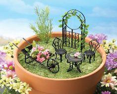 mini gardening minigarten mit pool mini gardening pinterest gardening mini garten und. Black Bedroom Furniture Sets. Home Design Ideas