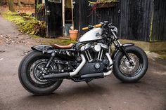 Motorcycle harley davidson sportster custom bobber 68 Ideas for 2019 Sportster 48, Custom Sportster, Custom Bobber, Custom Harleys, Harley Sportster 1200, Harley Bobber, Harley Bikes, Bobber Motorcycle, Retro Motorcycle