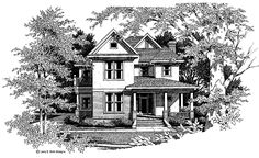 Country House Plan with 2113 Square Feet and 3 Bedrooms from Dream Home Source | House Plan Code DHSW46650