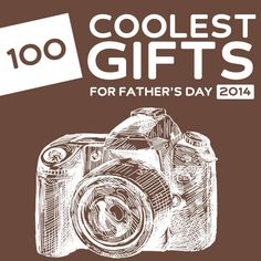 100 Coolest Father's Day Gifts of 2014- this is the holy grail for Father's Day gift ideas! So many cool, unique gifts.