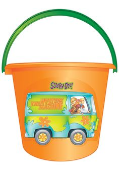 Scooby Doo bucket for Halloween...Awesome!