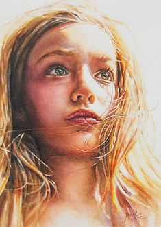 """""""Through the Eyes of a Child"""" Watercolor by Tracy Male"""