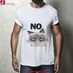 No Grumpy Cat for Men T-Shirt, Women T-Shirt, Unisex T-Shirt