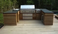 outdoor kitchen by Spatial Arts