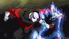 Jiren v Ultra Instinct Goku.