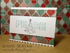 Mimi, Myself, and I -- The new Sparkle and Shine Paper Packet from Close to My Heart is amazing!  Juniper makes a great addition!  I used the Framework Alphabet and Tree Delights for this easy card.