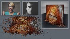 Cinema 4D - Converting an Image to Pixel Art Tutorial