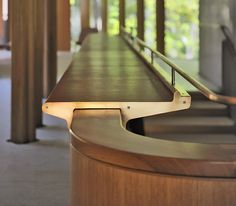 Beautifully crafted railing detail from Toronto firm Shim-Sutcliffe Architects-The Integral House