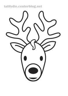 Ce joli traîneau a été fait avec une simple boîte d'oeufs ! Ensuite on y a collé les visages des rennes et hop le tour est joué !       GABARIT DES TETES DE RENNES !  Ca y est j'ai réussi ...