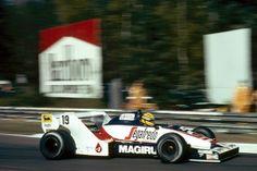 Ayrton Senna in his Toleman TG183B