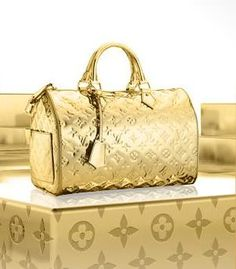 Have always loved the Gold louis Vuitton speedy.