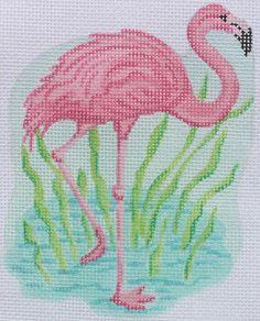 Kate Dickerson mini flamingo