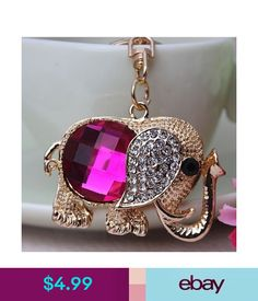 0184009f7 Key Chains, Rings & Finders Cute Elephant Keyrings Key Chains Handbag  Charms Accessories Lucky
