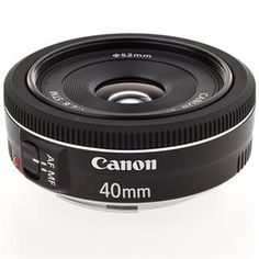 Canon EF 40mm f/2.8 STM Pancake Lens -  Continuous Auto Focus for Video! for 5d MKIII