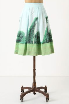 Kudzu Skirt at Anthropologie Photography by Sara Ball. http://www.sarahballphotography.com/index.php