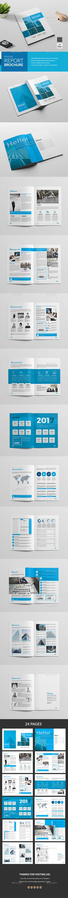 Annual Report Brochure — InDesign INDD #21x29.7 #multipurpose catalog • Available here ➝ https://graphicriver.net/item/annual-report-brochure/20775537?ref=pxcr