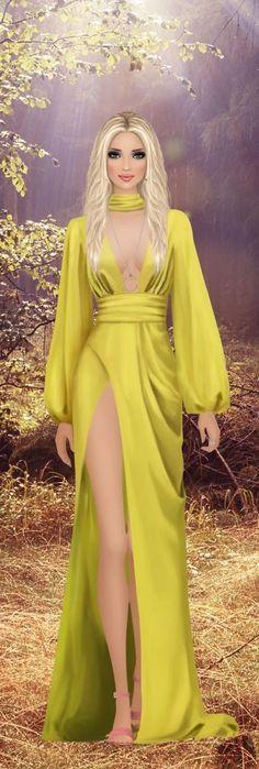 Abaya Fashion, Fashion Moda, Fashion Dolls, Fashion Art, Fashion Outfits, Womens Fashion, Fashion Design, Cleopatra Dress, Award Show Dresses