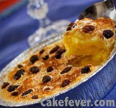 Resep Klappertaart Cheese yang lembut dan gurih karena ada potongan keju cheddar di dalamnya