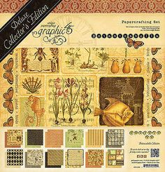 Graphic45 BOTANICABELLA DELUXE COLLECTOR'S EDITION scrapbooking FLORA FAUNA