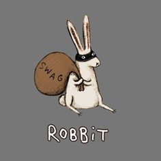 UK-based freelance illustrator Sophie Corrigan pairs funny animal puns with her own adorable animal drawings to create a series of illustrations that will leave Animal Puns, Funny Animals, Cute Animals, Cute Puns, Funny Puns, Bunny Art, Bunny Room, Freelance Illustrator, Pics Art