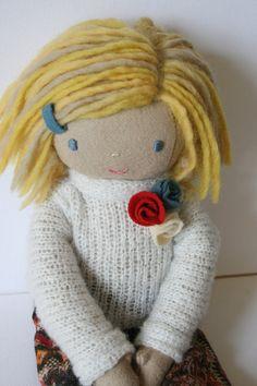 Olívia  Dress up Doll by LaPetiteCollection on Etsy, €50.00