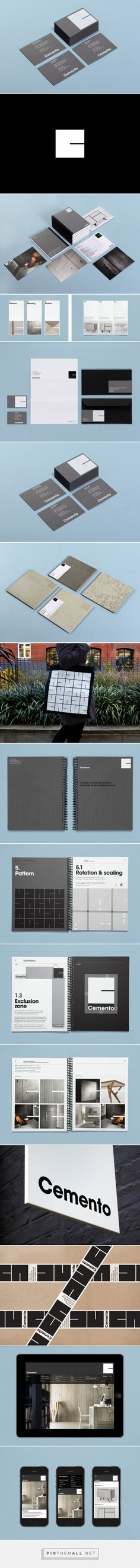 New Logo and Brand Identity for Cemento by S-T - BP&O - created via http://pinthemall.net
