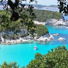 Antipaxi, Ionian sea