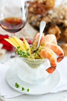 Shrimp Cocktail with Mango Salsa