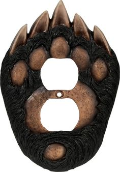 Bear Paw Receptacle Cover