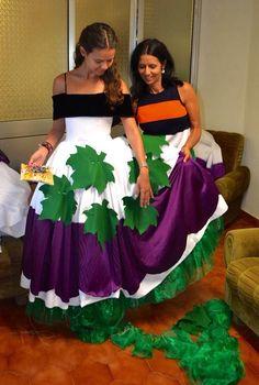 Madeira Wine Festival/Dresses/making of