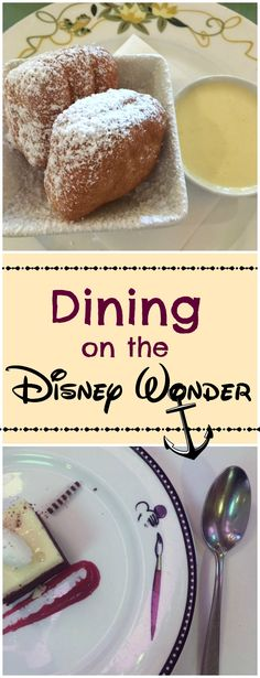 Our Experience Dining on the Disney Cruise Lines Wonder