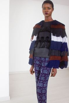 Designer Amaka Osakwe recently unveiled her latest Maki Oh collection for F/W 14, once again proving her fresh eye and striking technique. The Nigerian-based designer routinely delivers quality designs that marry a contemporary fashion sense with her African heritage.