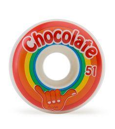 Chocolate Hang Loose - White - 51mm