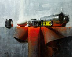 Measure by David Cheifetz Oil ~ 8 x 10 Painting Still Life, Still Life Art, Hyperrealism, Impressionist, Painting & Drawing, Art Reference, Graphic Art, Color Pop, Art Photography
