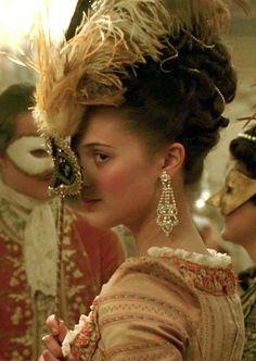 "aliczia: "" mademoisellelapiquante: "" Alicia Vikander as Carolina Mathilde in A Royal Affair (En kongelig affære) - 2012 "" Love it "" Caroline Matilda of Great Britain Alicia Vikander, Marie Antoinette 2006, Alexandra Of Denmark, A Royal Affair, Rococo Fashion, Princess Alexandra, Period Costumes, Movie Costumes, Masquerade Party"
