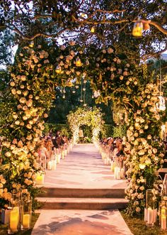 Sophisticated Beverly Hills Wedding with Luxurious Decor from Samuel Lippke Studios - Wedding Ceremony Ideas -