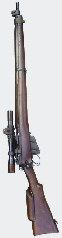 DA260 No 4T Sniper Rifle The legendary .303 sniper rifle introduced in 1942, this example by Longbranch dated 1943 with cheek-piece and No32 MkI telescopic sight. http://www.worldwidearms.com/popup.cfm?p_n=513448_i=513448