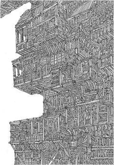 Drawing byVasco Mourão