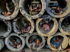 """Esta es la fotografía ganadora de la categoría """"Escape de la Ciudad"""" tomada por Faisal Azim. Se llama """"La vida en un círculo""""."""