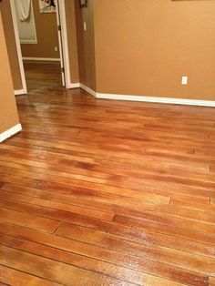 Concrete floors that look like wood. Perfect for patio instead of deck, and laundry room floor.