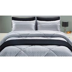 Briscoes - Classic Living Lawrence Comforter Set Comforter Sets, Comforters, Bedroom, Classic, Furniture, Home Decor, Creature Comforts, Derby, Quilts
