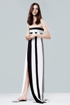 Narciso Rodriguez resort 2014 #Stripes #chic
