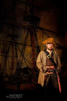 Pirate cosplay.  Image by The Portrist. 2013