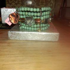 ***MARK DOWN**BEAUTIFUL WOMEN'S BRACELET ***FINAL MARK DOWN**NWT-WOMENS SIX ROW MULTISTONE BRACELET Jewelry Bracelets